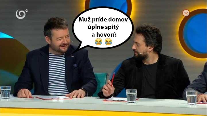 Michal Hudák pobavil v Inkognite úplne každého: Muž príde domov totálne na šalát..