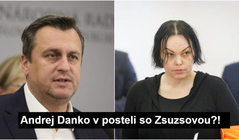 Andrej Danko a jeho tajnosti so Zsuszovou: Konečne už budete moja na celú noc!