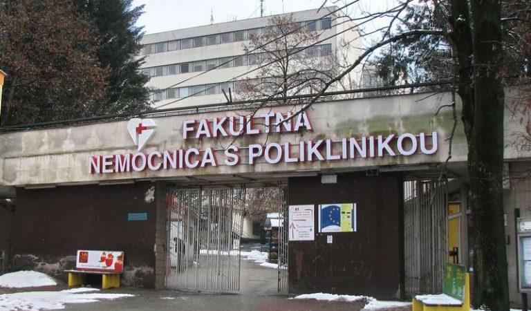 Poplach v žilinskej nemocnici: Na pohotovosť prišli dvaja muži u ktorých sa prejavili príznaky koronavírusu