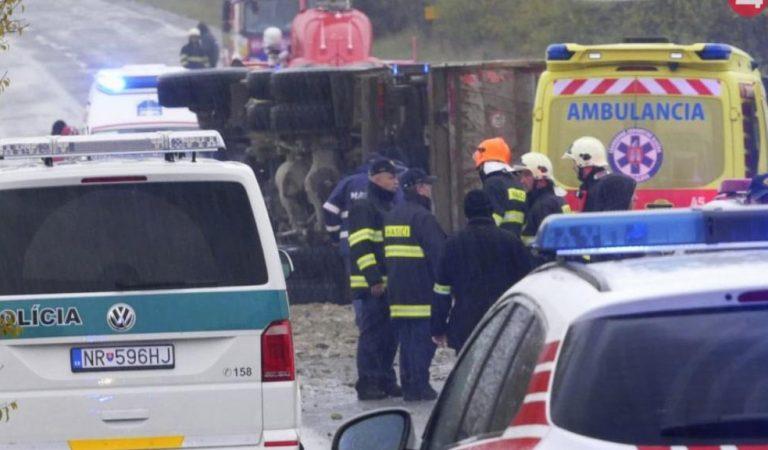 Príčina tragickej zrážky autobusa s nákladiakom pri Nitre: Toto tušil iba málokto!