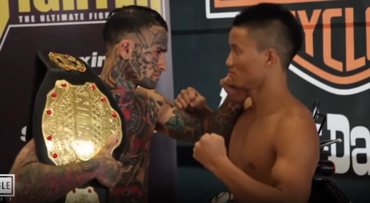 Bojovník MMA si spravil naozaj obrovskú hanbu. Po veľkej šou dostal okamžité K.O. !