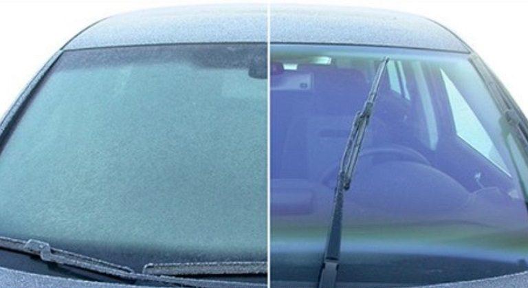 Ako efektívne odstrániť ľad z čelného skla? Účinný návod ktorý si s ním poradí takmer hned!