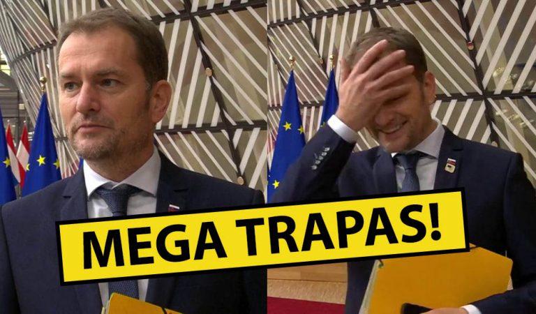 OBROVSKÝ TRAPAS: Premiér Igor Matovič zabudol, že je v živom vysielaní!