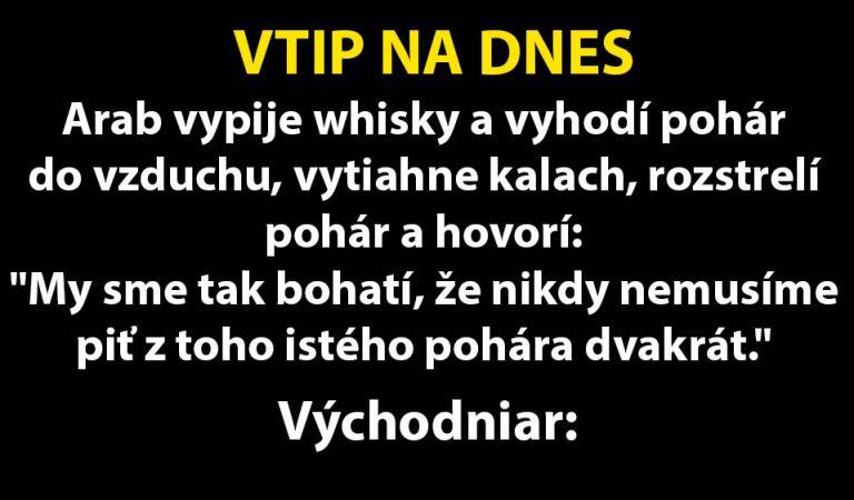 TOP VTIP: Bratislavčan pije s východniarom…